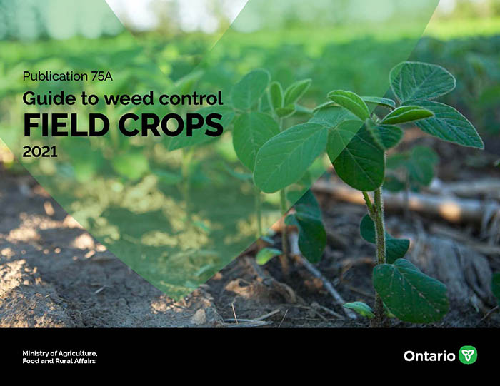 Cover page Guide to Weed Control Field Crops