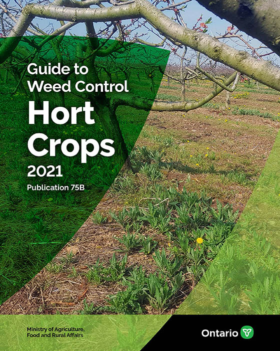 Cover for Publication 75B, Guide to Weed Control: Horticulture Crops.