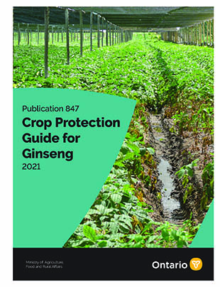 Crop Protection Guide for Ginseng- Publication 847