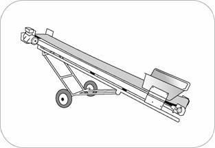 Belt conveyors are expensive but will save lots of labour and storage costs by making it easier to stack manure higher and in all areas of the storage.