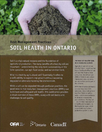 Image of the Soil Health in Ontario book